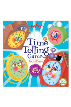 Eeboo Time Telling Game - Product List Image