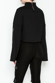 TIMELESS Asher Crop Sweater - Back cropped