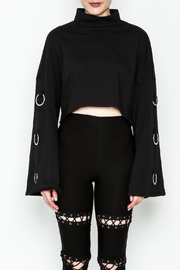 TIMELESS Asher Crop Sweater - Front full body