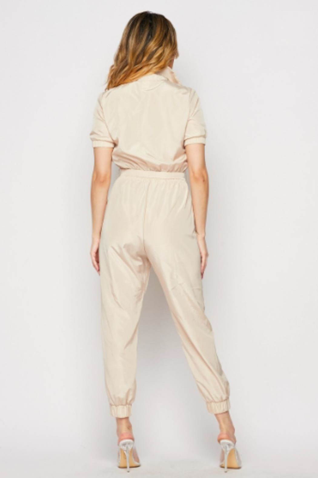 TIMELESS Aviator Jumpsuit - Side Cropped Image