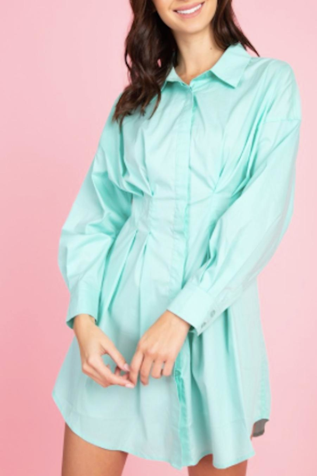 TIMELESS Bahamas Button Down - Front Full Image