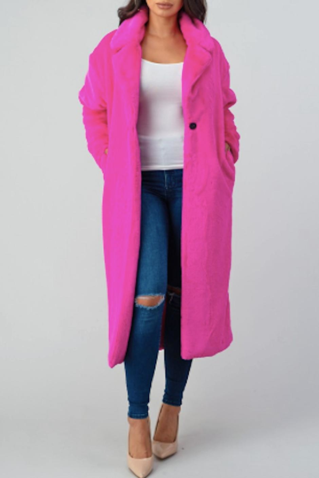 TIMELESS Barbie Coat - Front Cropped Image