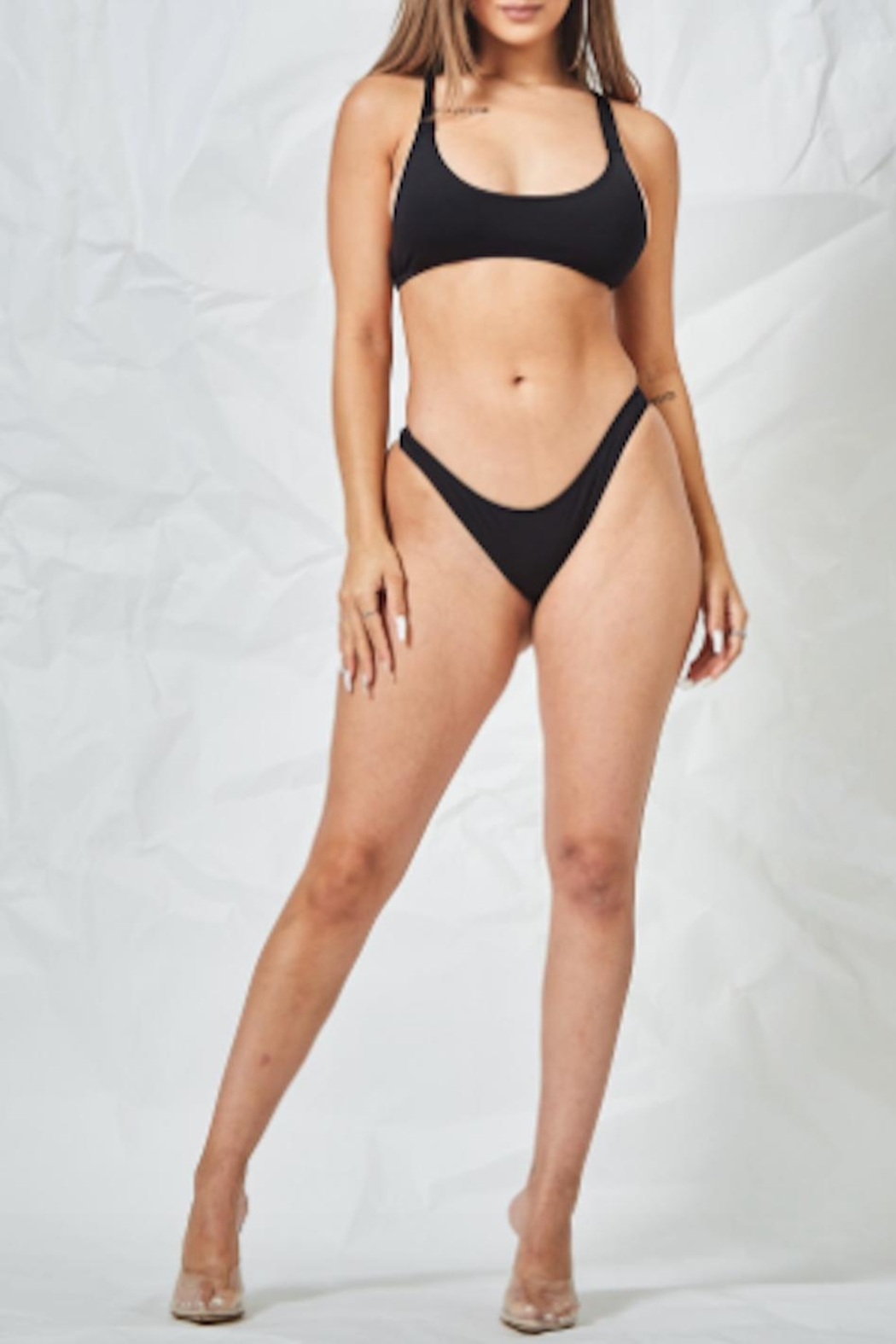 TIMELESS Blacked Out Swimsuit - Main Image