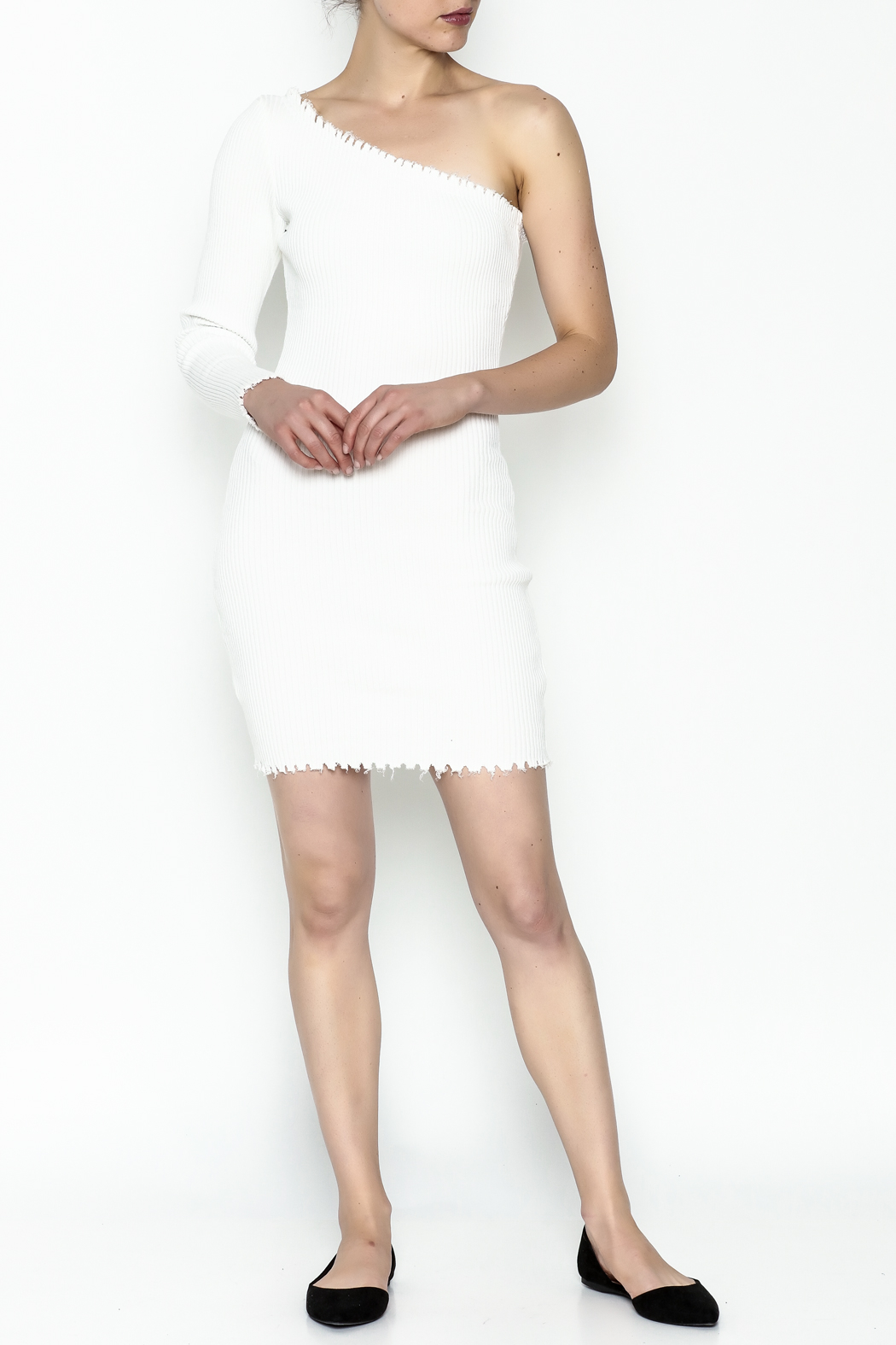 TIMELESS Blanca Bodycon Dress - Side Cropped Image