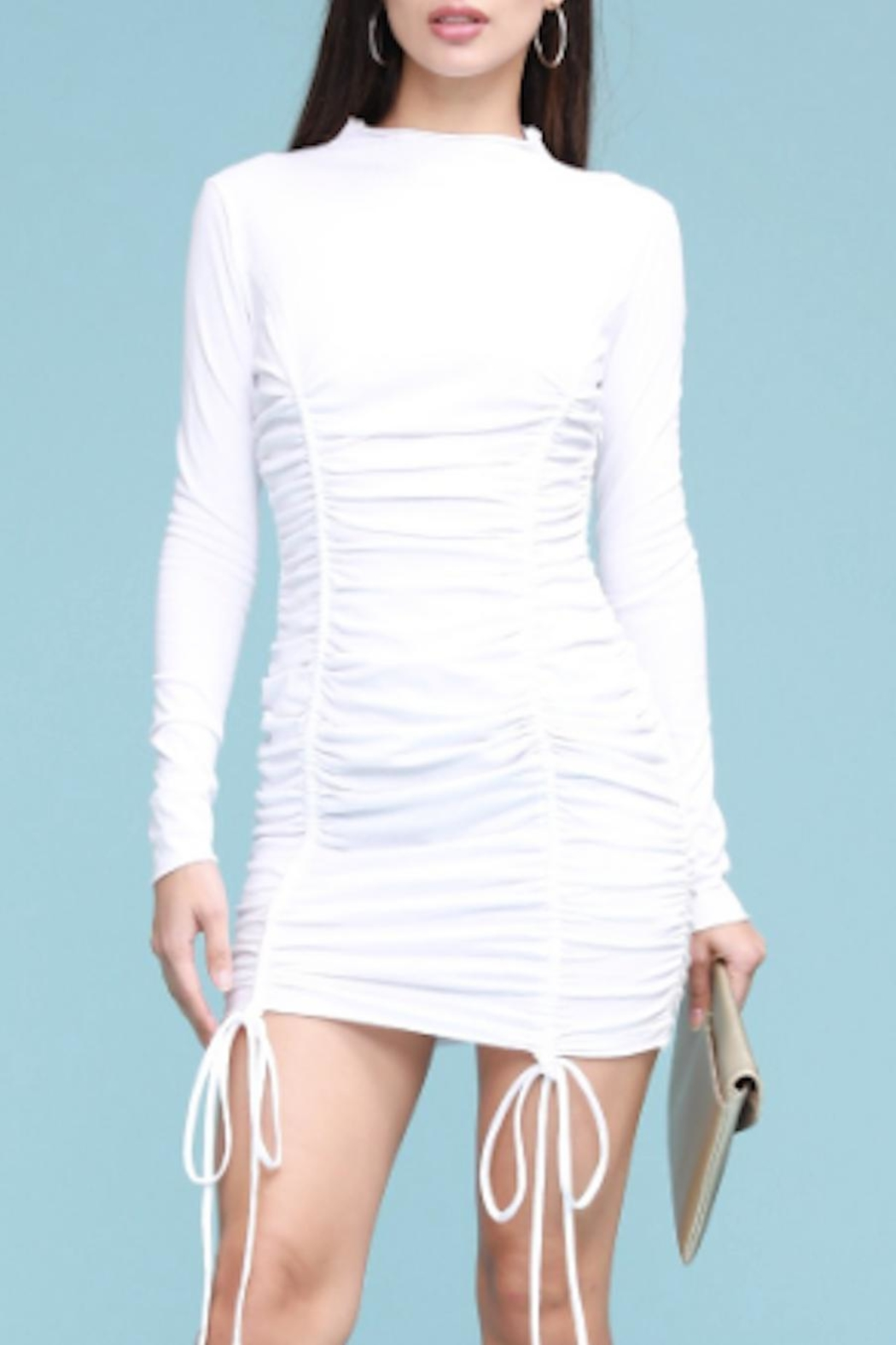 TIMELESS Blanca Ruched Dress - Front Full Image