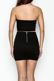 TIMELESS Buckle Bandeau Crop Top - Back cropped