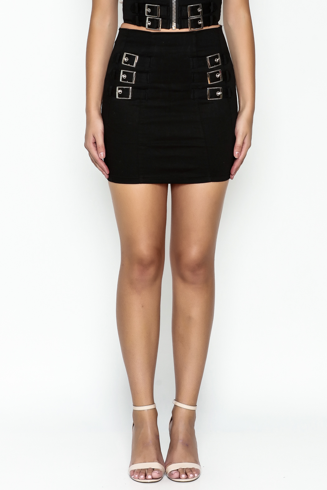 TIMELESS Buckle Skirt - Front Full Image