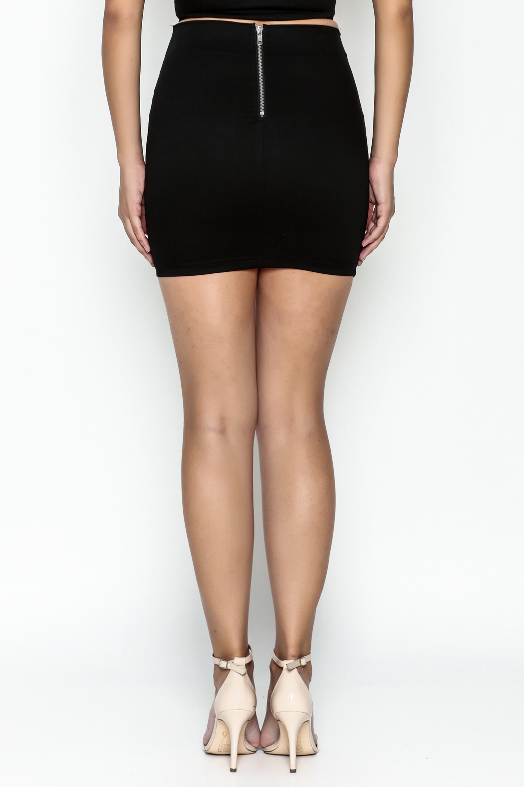 TIMELESS Buckle Skirt - Back Cropped Image
