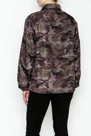 TIMELESS Camo Windbreaker Jacket - Back cropped