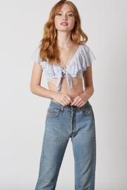 TIMELESS Chambray Stripe Crop - Product Mini Image