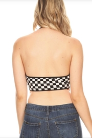 TIMELESS Checked Out Halter - Side cropped
