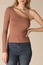 TIMELESS Cognac Cutout Top - Side cropped