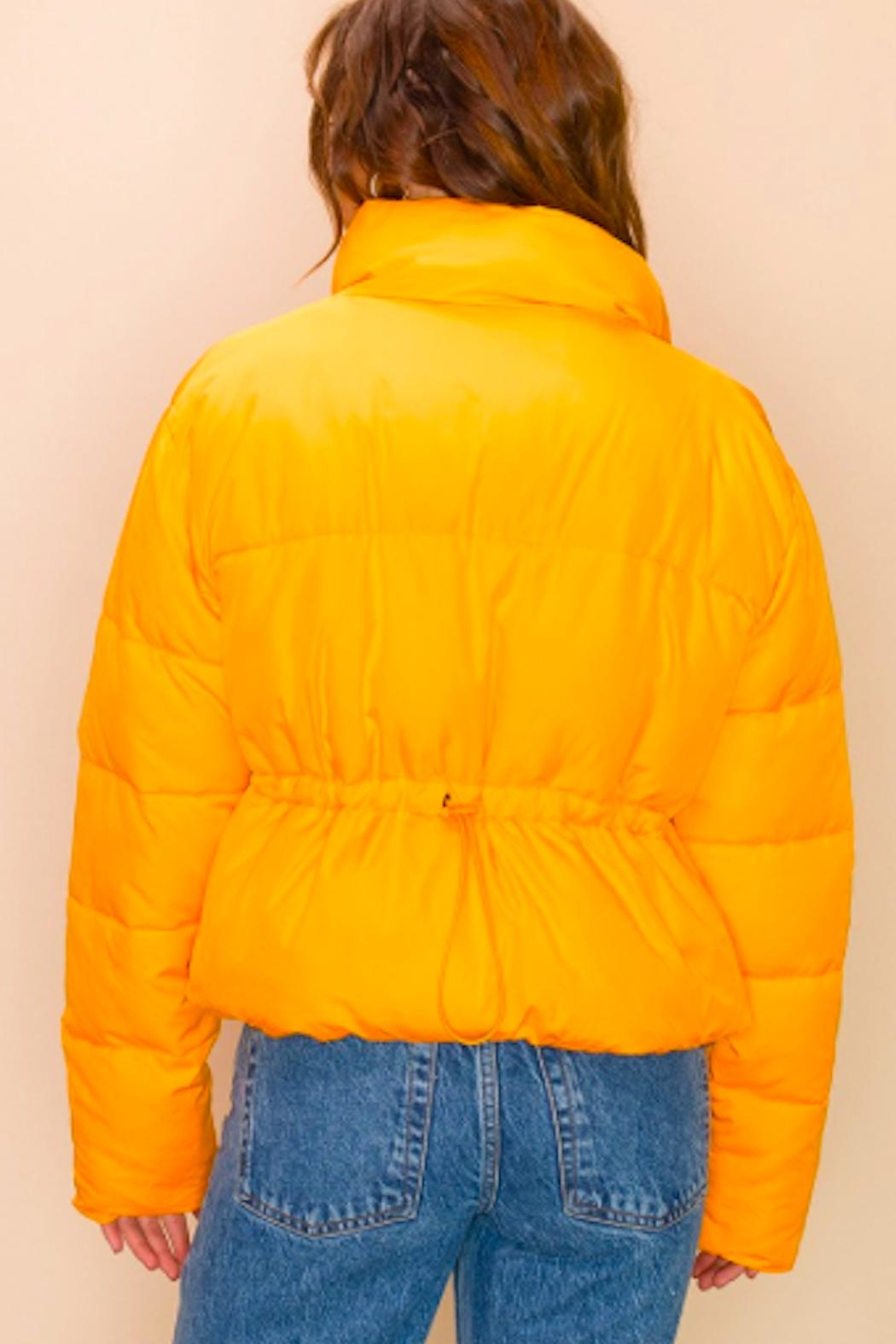 TIMELESS Creamsicle Coat - Side Cropped Image