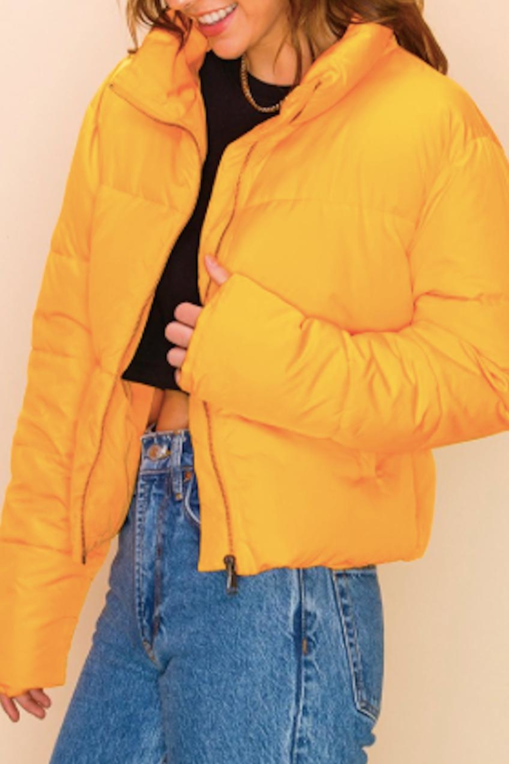 TIMELESS Creamsicle Coat - Front Full Image