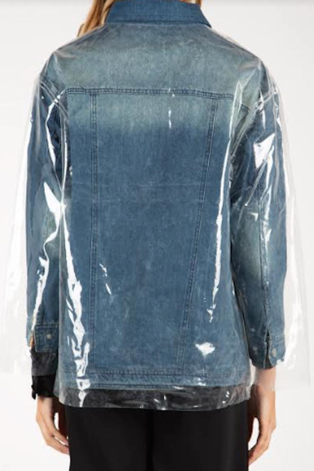 TIMELESS Crystal Clear Jacket - Back Cropped Image