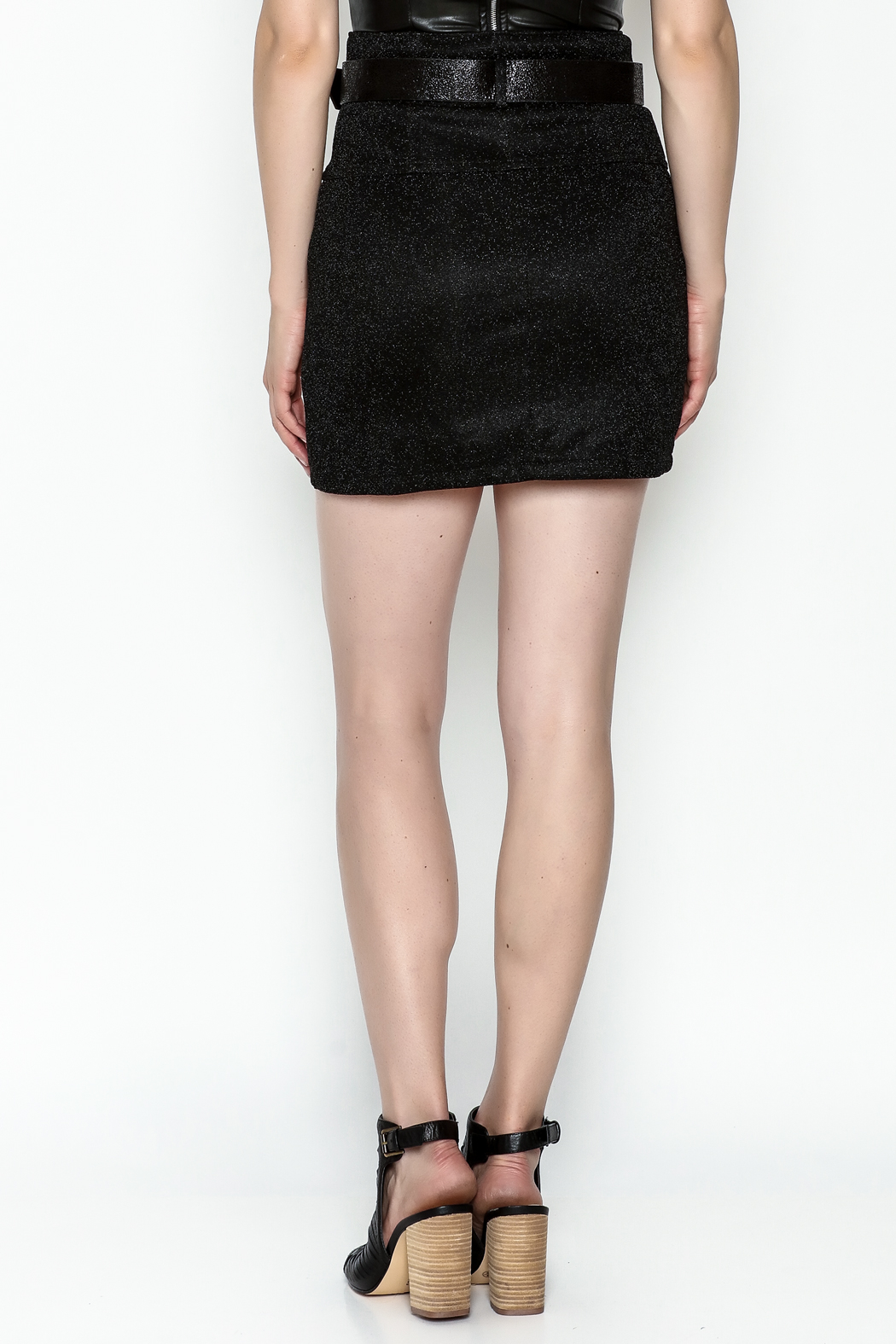 TIMELESS Diamond Skirt - Back Cropped Image