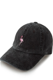 TIMELESS Flamingo Baseball Cap - Product Mini Image