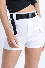 TIMELESS Full Cargo Shorts - Front cropped
