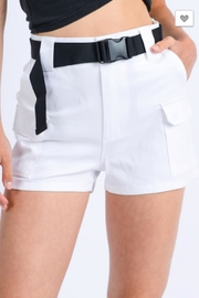 TIMELESS Full Cargo Shorts - Front full body