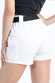 TIMELESS Full Cargo Shorts - Side cropped