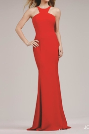 Jovani Timeless High-Neck Gown - Product Mini Image