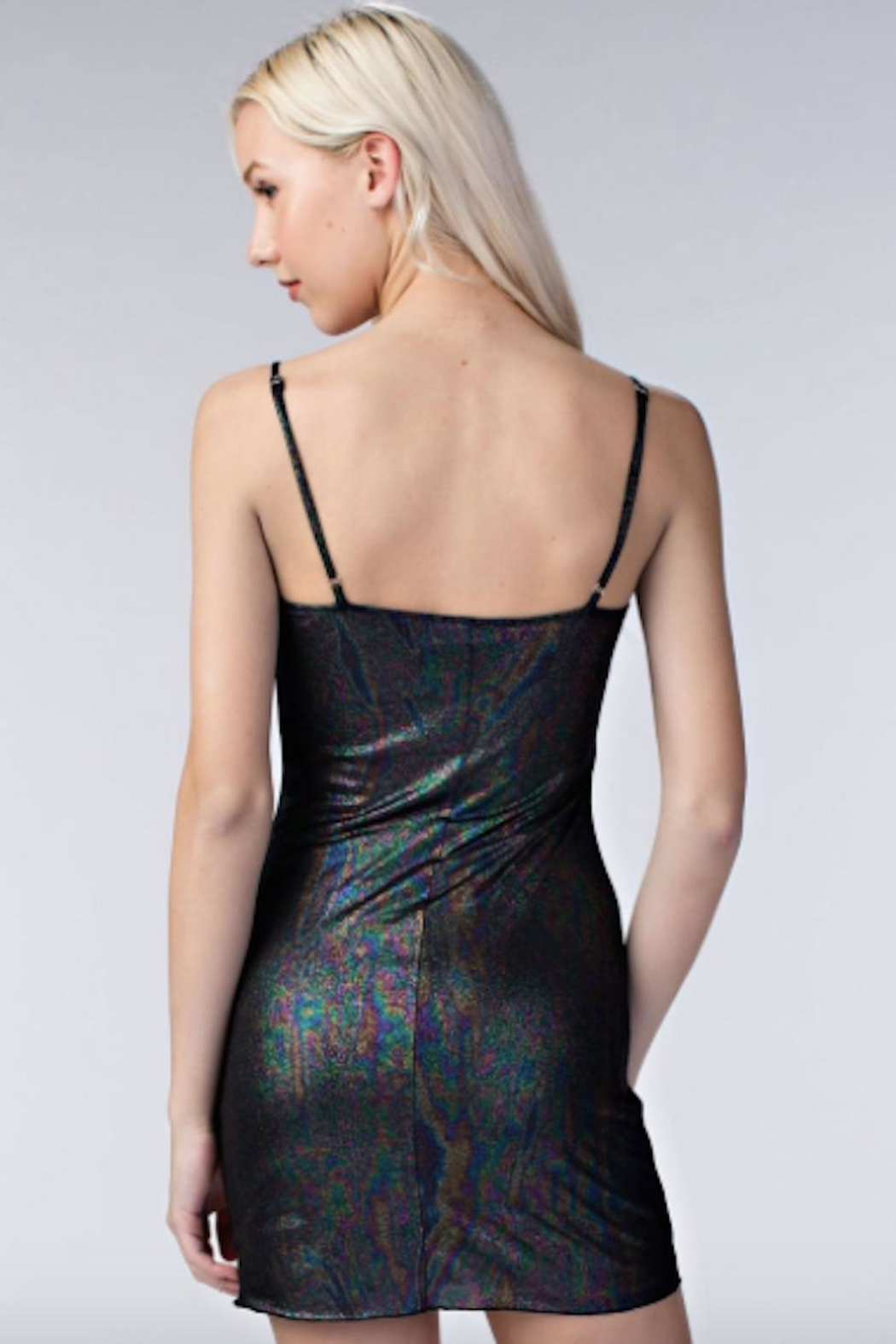 TIMELESS Iridescent Dress - Side Cropped Image