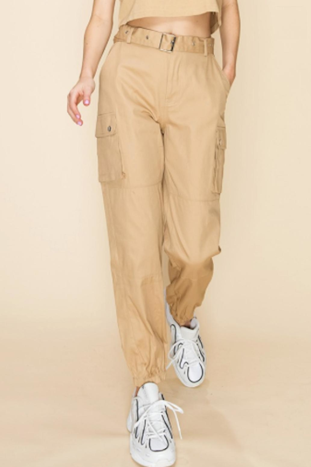 TIMELESS Kelly Cargo Pants - Front Full Image