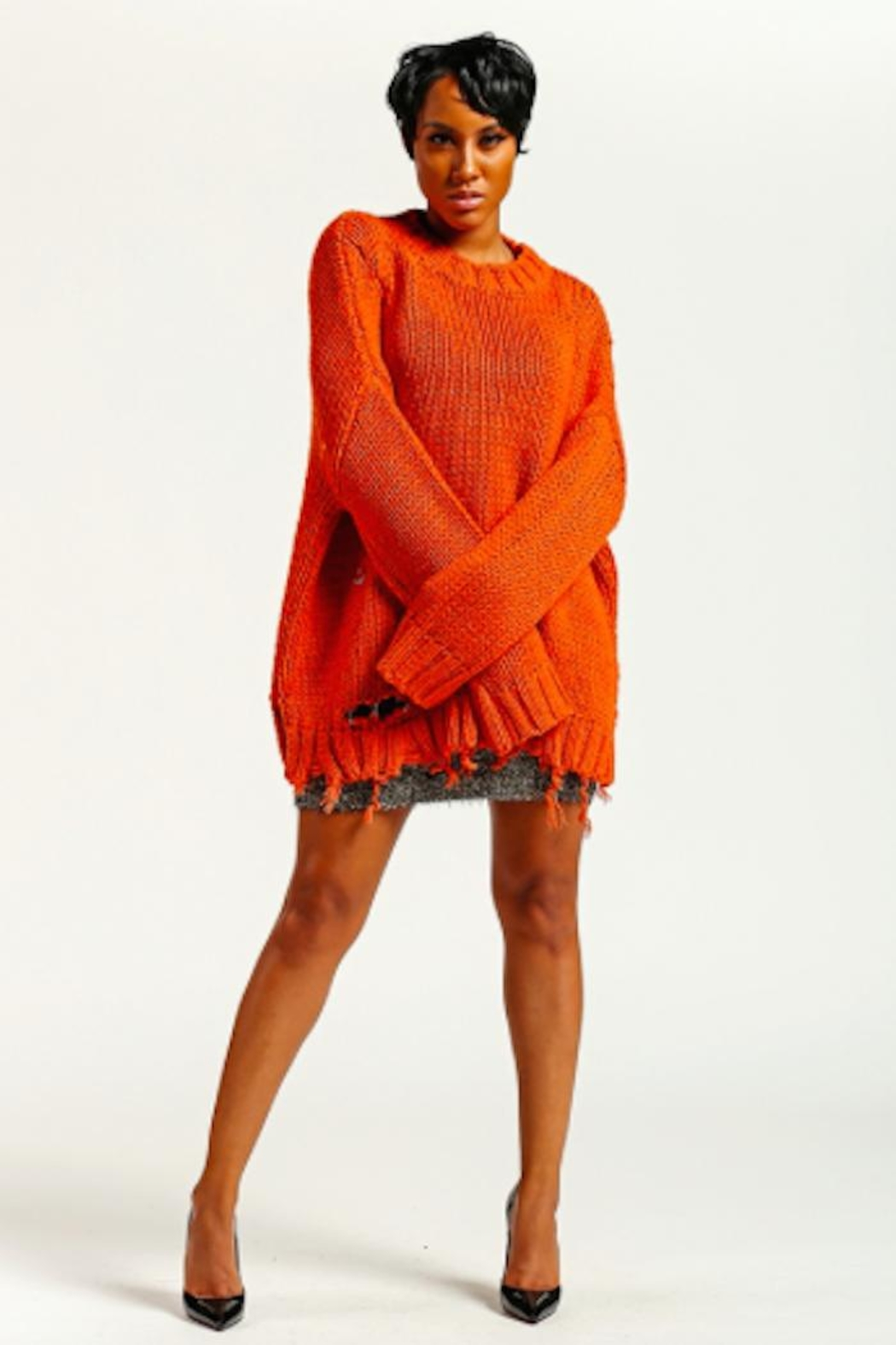 TIMELESS Knit Sweater - Front Full Image