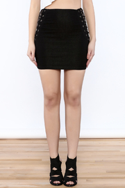 TIMELESS Black FItted Skirt - Side cropped