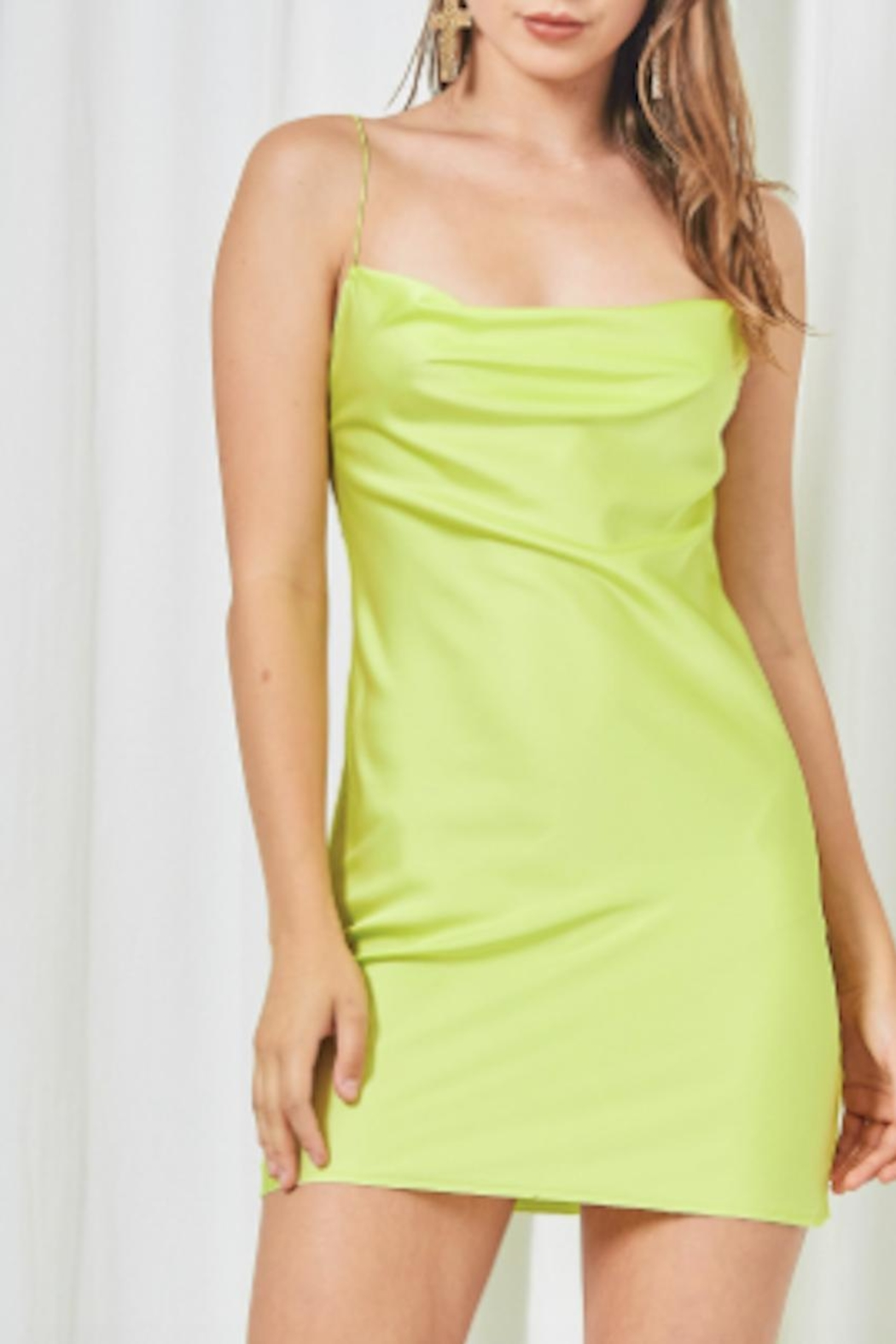 TIMELESS Limeade Dress - Main Image