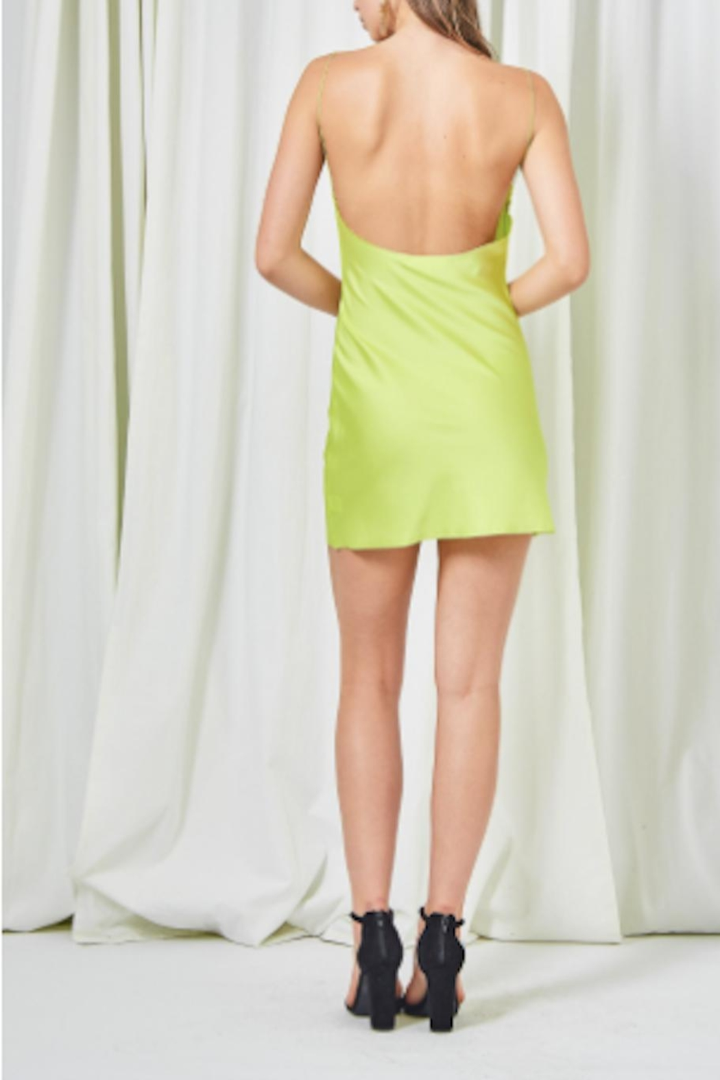 TIMELESS Limeade Dress - Side Cropped Image
