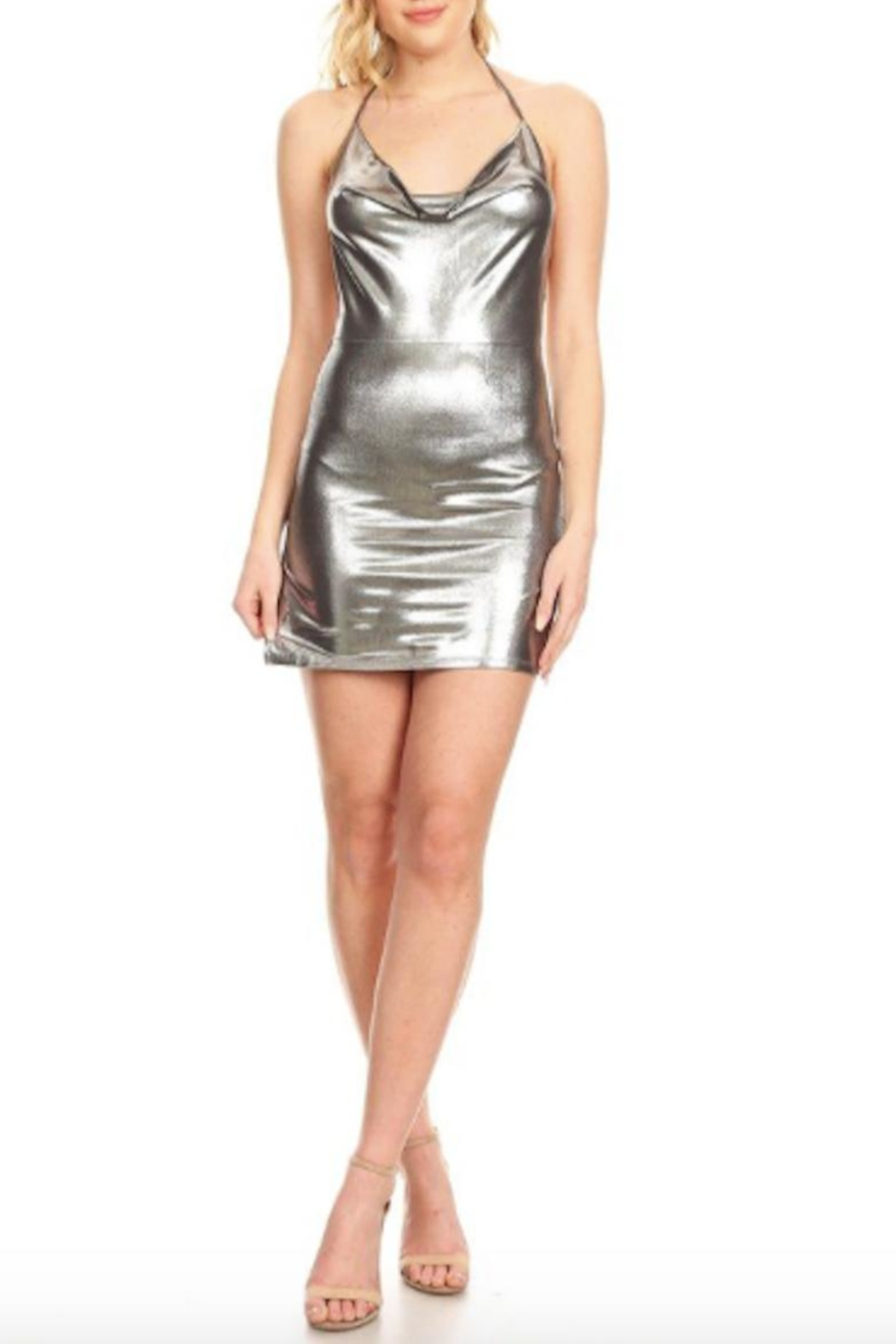 TIMELESS Liquid Dress - Front Cropped Image