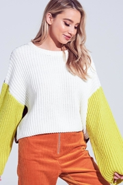 TIMELESS Macaron Sweater - Front cropped