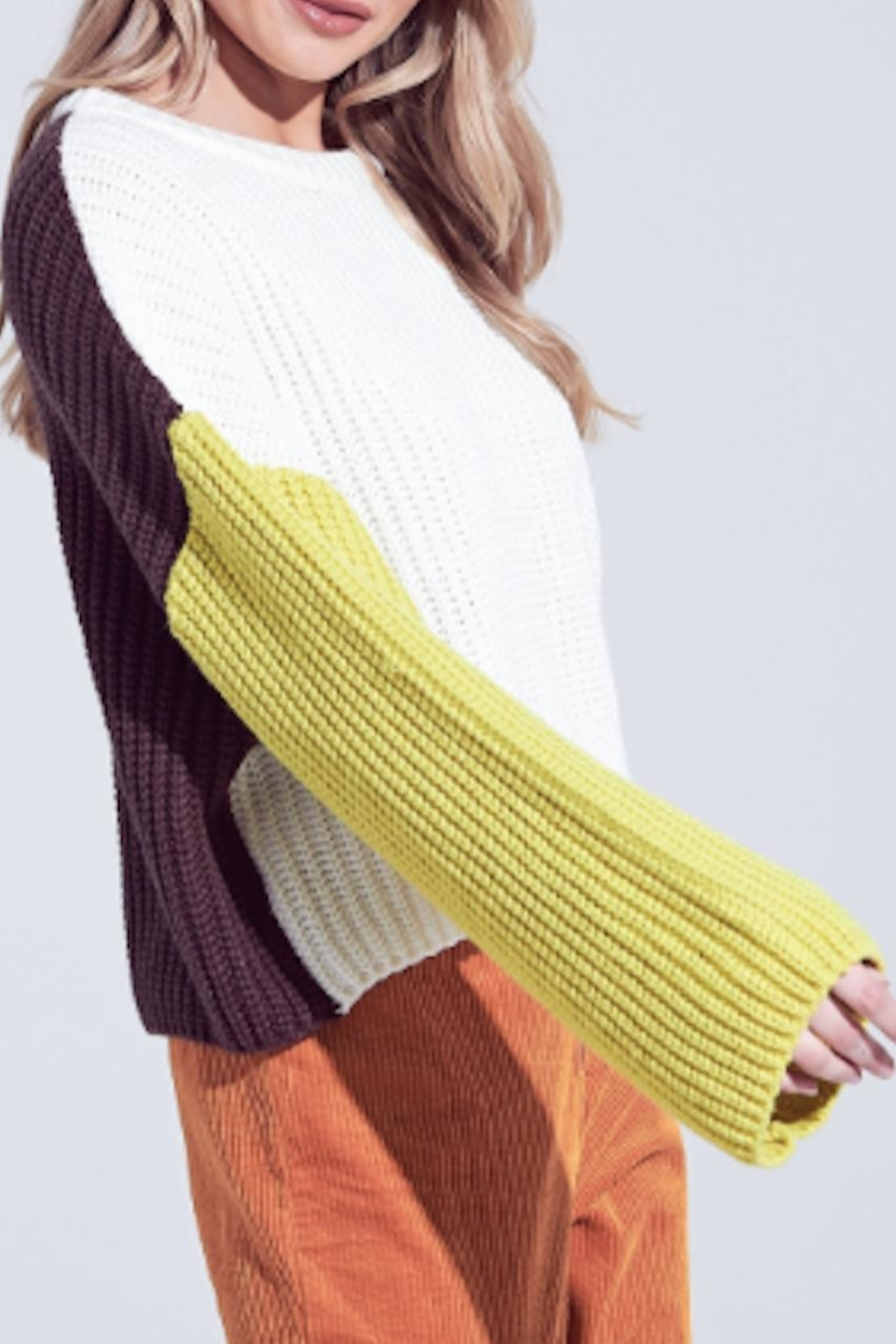 TIMELESS Macaron Sweater - Front Full Image