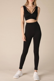 TIMELESS Marble Leggings - Front cropped