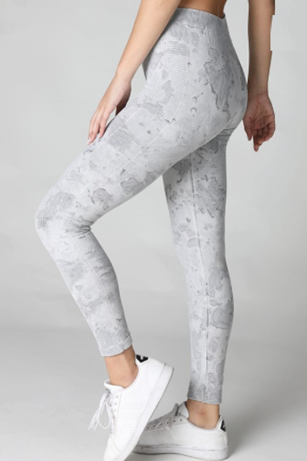 TIMELESS Marble Leggings - Front Full Image