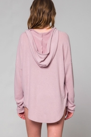 TIMELESS Mauve Hoodie - Front full body