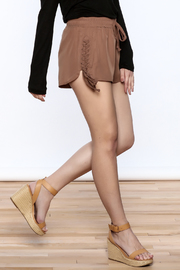 TIMELESS Mocha Shorts - Product Mini Image