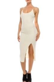 TIMELESS Nude Basic Dress - Product Mini Image