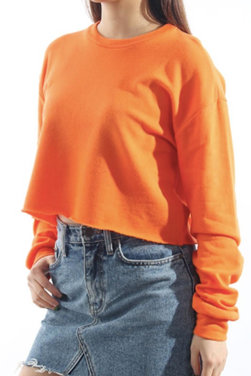 TIMELESS Orange Pullover Top - Main Image