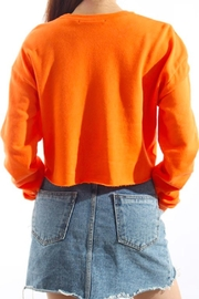 TIMELESS Orange Pullover Top - Side cropped