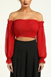TIMELESS Polka Dot Crop - Front cropped