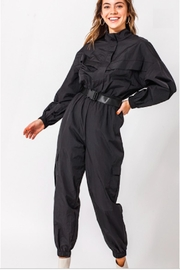 TIMELESS Racer Jumpsuit - Front cropped