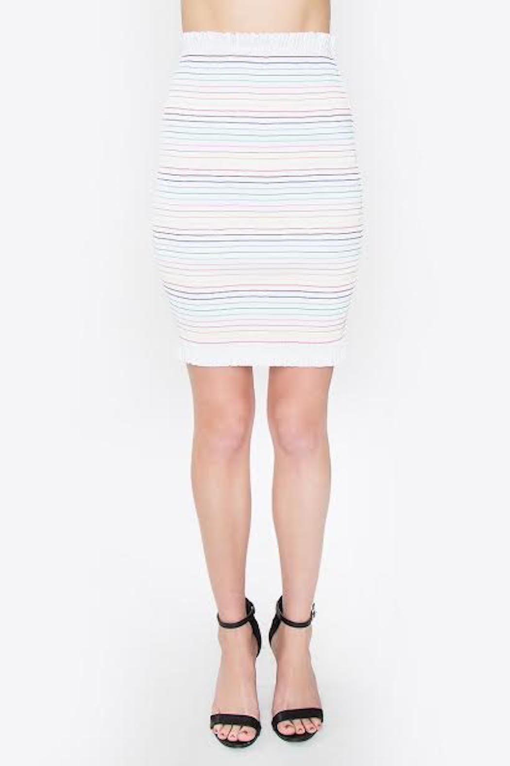 TIMELESS Rainbow Bright Skirt - Front Cropped Image