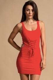 TIMELESS Red Hot Dress - Product Mini Image