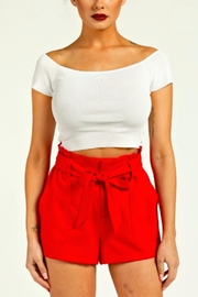 TIMELESS Ribbed Crop Top - Product Mini Image