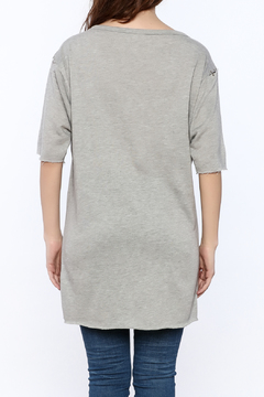 TIMELESS Grey Tunic Top - Alternate List Image