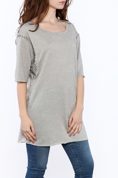 TIMELESS Grey Tunic Top - Product List Image