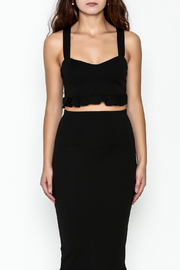 TIMELESS Ruffle Crop Top - Front full body