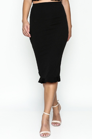 TIMELESS Ruffle Pencil Skirt Set - Front cropped